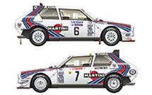 D24-011 038 1985 RAC Rally Winner/1986 Monte Carlo Rally Winner