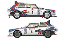 D24-012 038 1986 Costa Smerald Rally Winner/1986 Tour de Corse